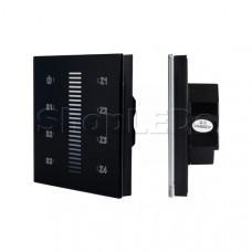 Панель Sens SR-2830A-RF-IN Black (220V,DIM,4 зоны)