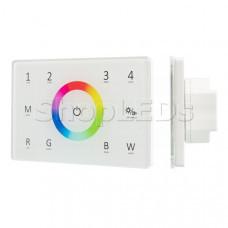 Панель Sens SMART-P85-RGBW White (230V, 4 зоны, 2.4G)