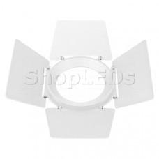 Бленда с посадочным кольцом LGD-NIKA-BDR-R100 (WH) (Arlight, Металл)