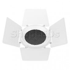 Бленда с сетчатым фильтром и посадочным кольцом LGD-NIKA-BDH-R100 (WH-BK) (Arlight, Металл)
