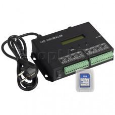 Контроллер HX-803SA DMX (8192 pix, 220V, SD-карта)