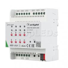 INTELLIGENT ARLIGHT Релейный модуль KNX-708-SW10-DIN (BUS, 8x10A)